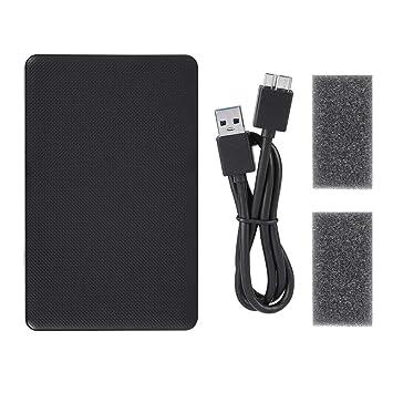 Eboxer 2.5-Inch SATA a USB 3.0 Alojamiento de Disco Duro Externo ...
