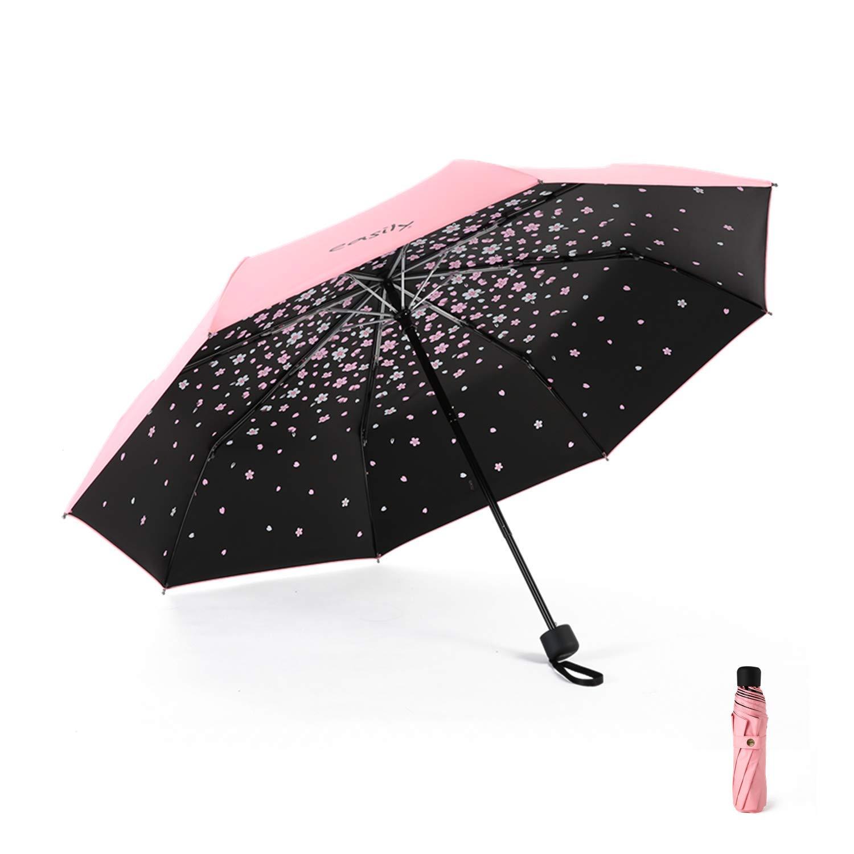 Meiyijia Parapluie Pliant,Ouverture et Fermeture Automatique,10 Baleines 210T Tissu R/ésistant /à Temp/ête Compact L/éger Parapluie de Voyage pour Homme et Femme