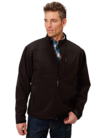 23e2d47effa Amazon.com  Roper Men s Concealed Carry Soft Shell Jacket  Clothing