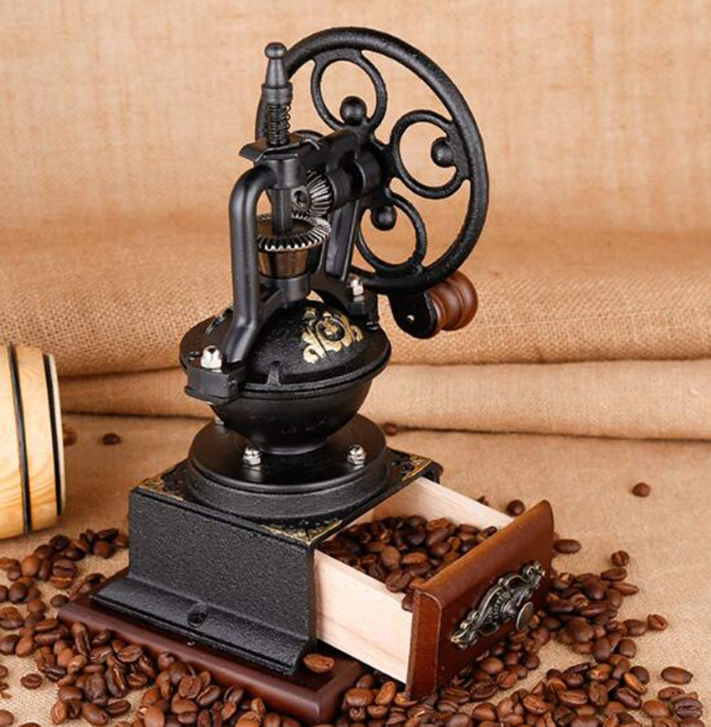 PsgWXL Hand-cranked Grinder Coffee Home Manual Coffee Machine Small Coffee Bean Grinder Grinder by PsgWXL (Image #4)