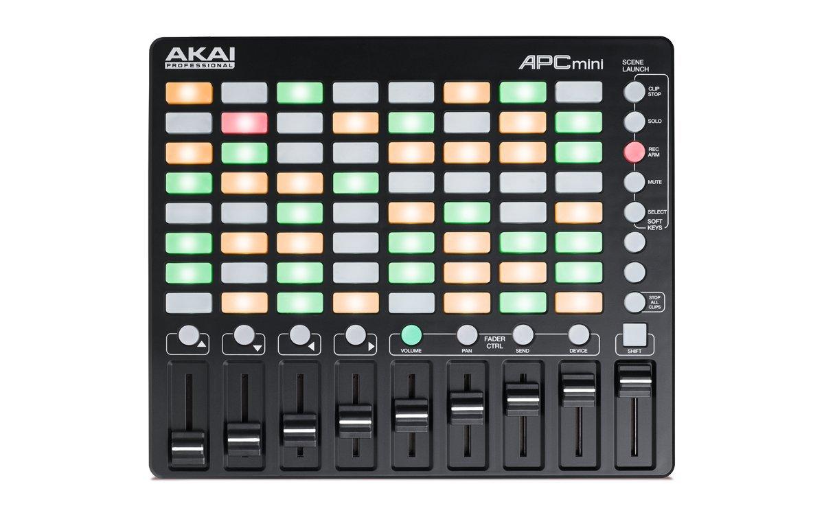 AKAI Professional APC MINI Controlador MIDI USB para Ableton con disparador de