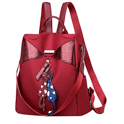 89d776629 Shoulder Bags For Women Large Ladies Crossbody Bag With Tassel Women's  Fashion Backpack Waterproof Nylon Bag
