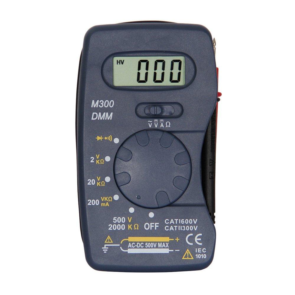 OLSUS M300 LCD Handheld Digital Multimeter for Home and Car - Blue