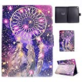 Apple iPad Air 9.7 Inch Case,LittleMax(TM) Lightweight PU Leather Auto Wake/Sleep Flip Stand Case [Card Slots] Smart Shell Magnetic Closure Folio Cover for Apple iPad Air 2013 Model - 01 Wind Bell