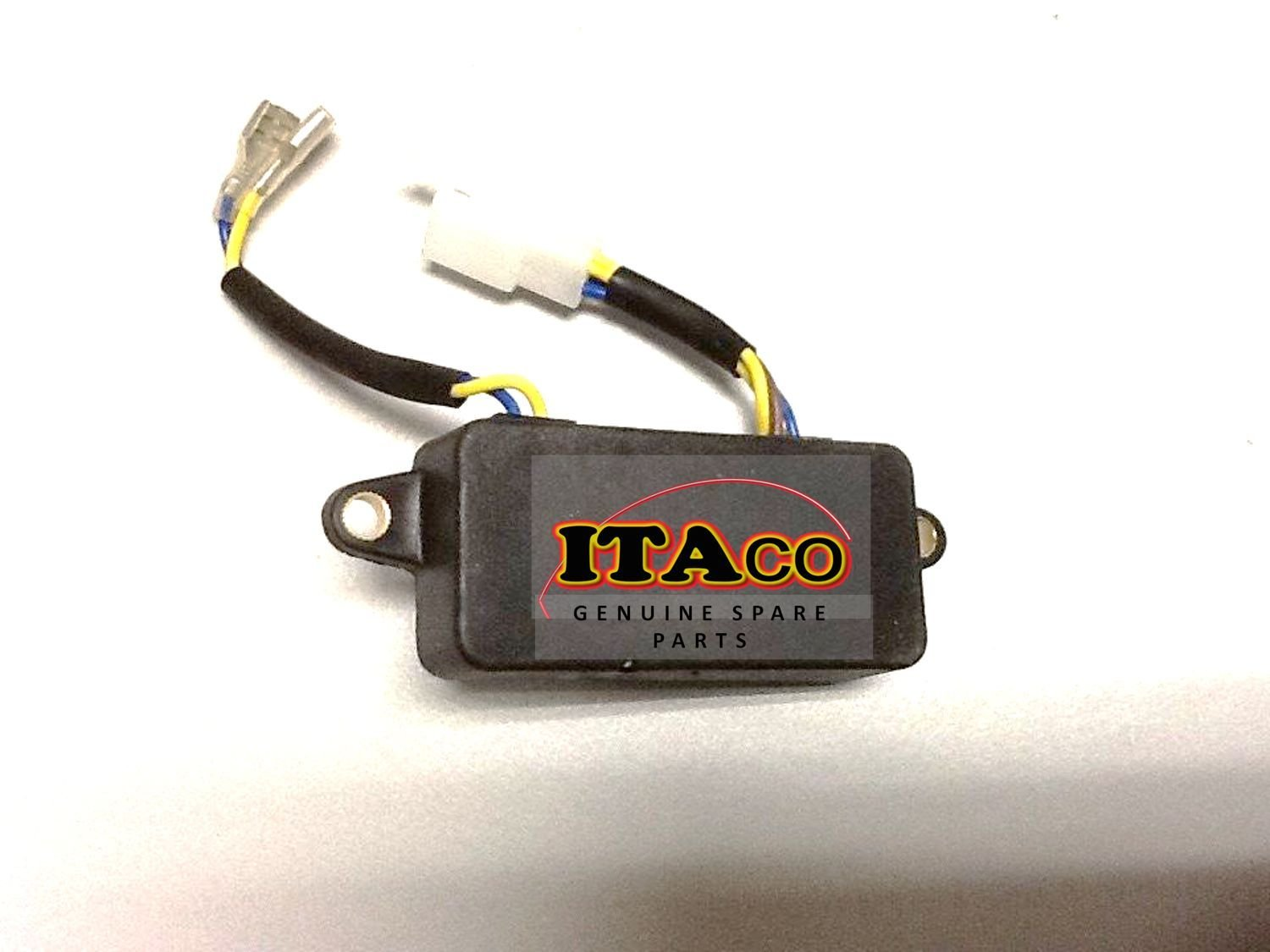 3000 Watts Generator AVR Automatic Voltage Regulator Rectifier 3KW Generator AVR PLASTIC Black Square type by ITACO