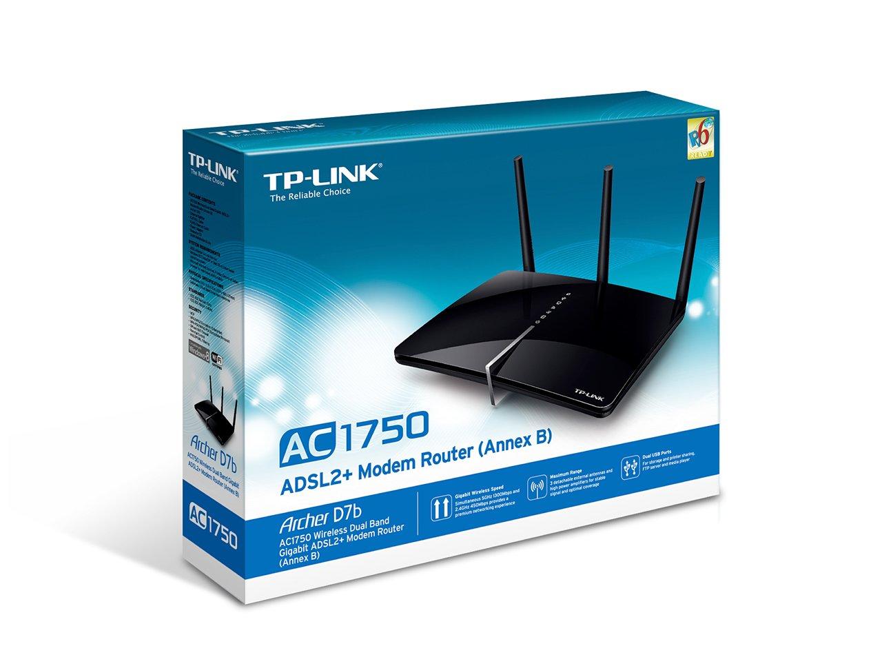 TP-Link Archer D7b V1 Router Treiber Windows XP