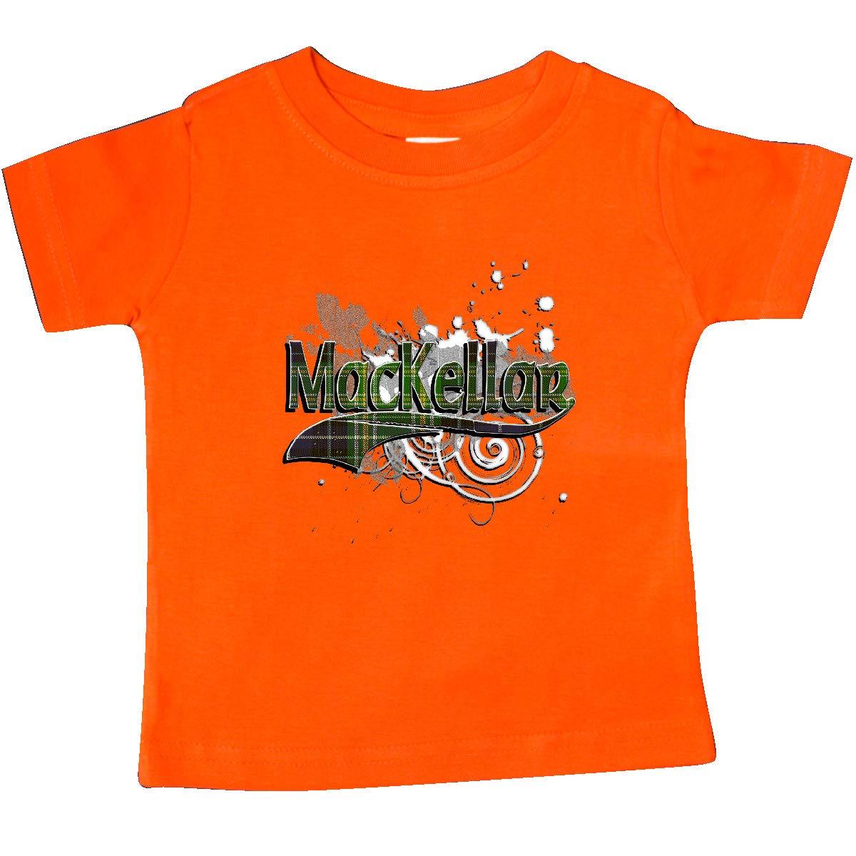inktastic MacKellar Tartan Grunge Baby T-Shirt