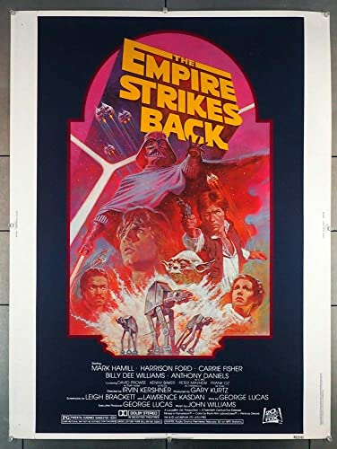 The Star Wars Episode V Empire Strikes Back 1980 Original Movie Poster At Amazon S Entertainment Collectibles Store