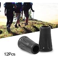 Ejoyous 12Pcs Protector para bastones, Protector de puntas