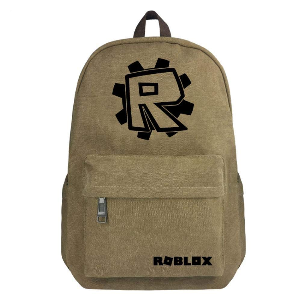 Anime Mochila de hombro Portátil Backpack mochila escolar unisex school girls boy Bookbag Laptop Bag Roblox do