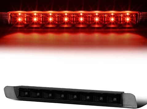 Tinted Housing Dual Row LED 3rd Third Tail Brake Light Reverse Lamp for Tundra Toyota 00-06