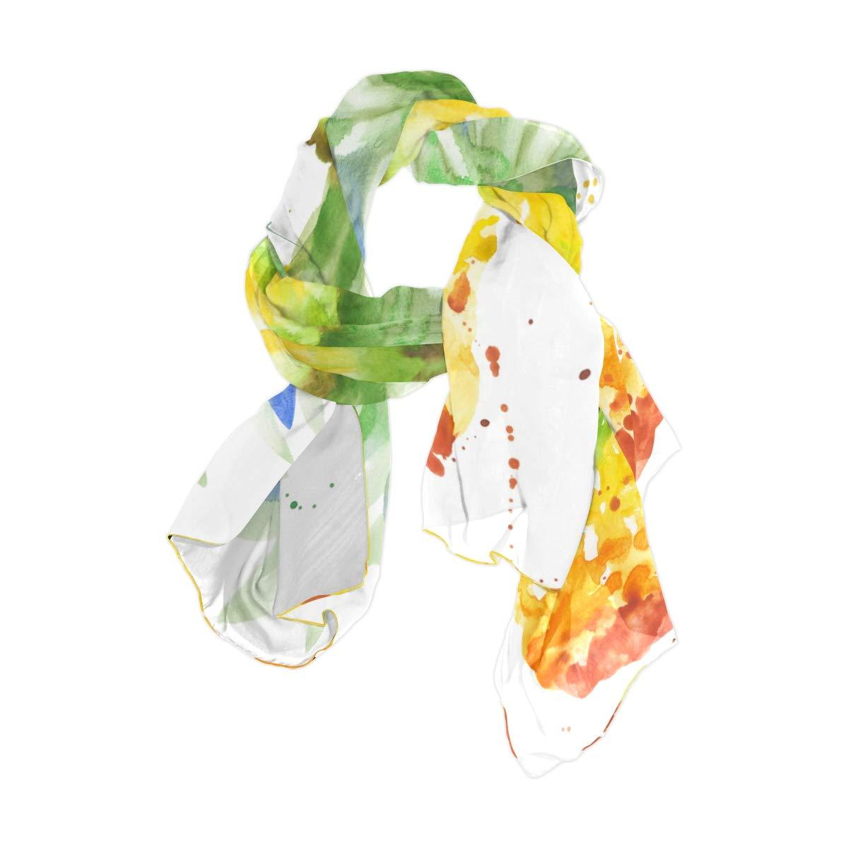 DGYEG44 I Am Fine Printing Scarf Kids Warm Soft Fashion Scarf Shawl For Autumn Winter