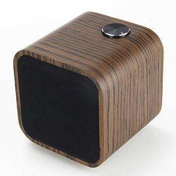 Amazon.com: Smalody Altavoz HiFi de Madera Bluetooth con ...