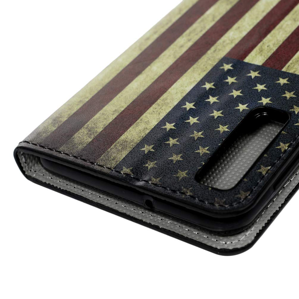 Samsung Galaxy A8 Plus 2018 Case 3D Shockproof Premium PU Leather Flip Notebook Wallet Case with Magnetic Kickstand ID Card Holder TPU Bumper Protective Cover Sea World Galaxy A7 2018 Case