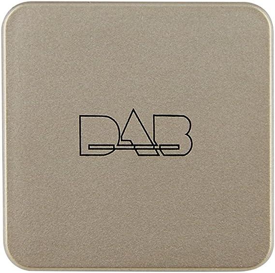 Docooler DAB Box Transmisor de antena de radio digital Transmisión de FM alimentado por USB para radio de auto Android 5.1 y superior (solo para ...