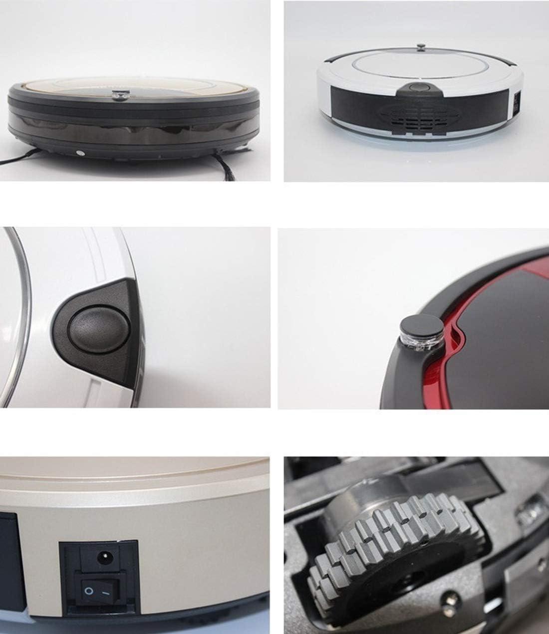 Gmjay Robot Aspirateur Intelligent Remplissage Automatique de Ménage Machine de Nettoyage Automatique Lazy Smart Aspirateur black