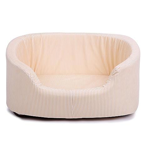 Pet bed Cama para Mascotas Lavar a Mano el Terciopelo de Hielo Blanco Tridimensional anidar Perro