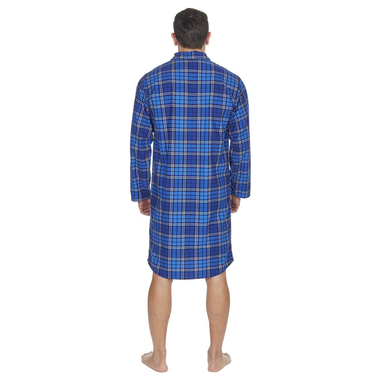 eb9974dd97 Metzuyan Mens Nightshirt Nightwear Traditional Knee Length  Amazon.co.uk   Clothing