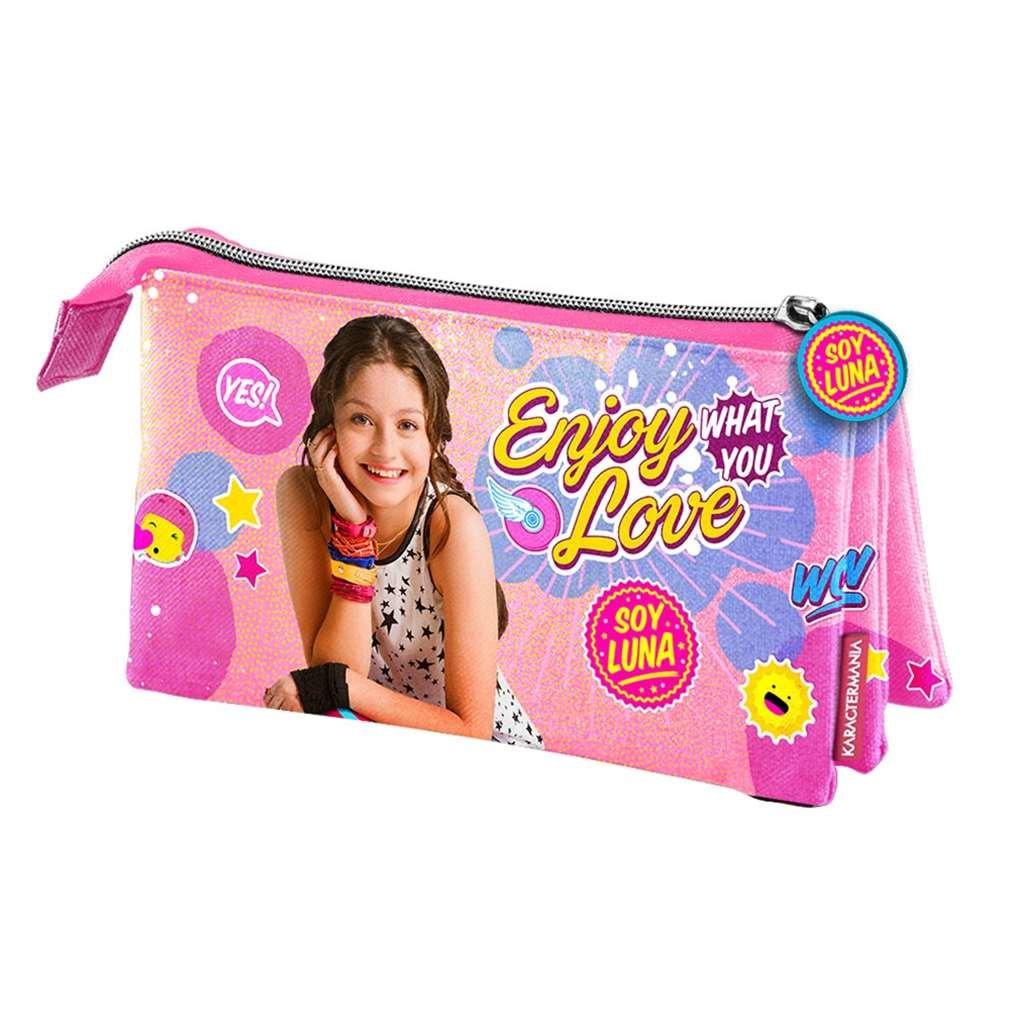 Amazon.com: Soy Luna – 32282 – Juego de tres bolsillos