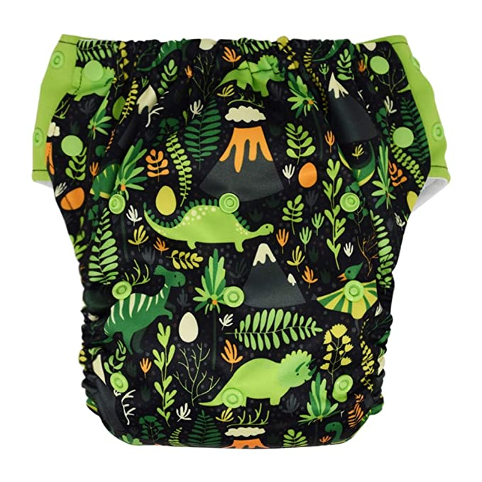 Hybrid Cloth Diaper - Reusable Training Pants or Reusable Swim Diaper, Newborn Baby to 10 Years