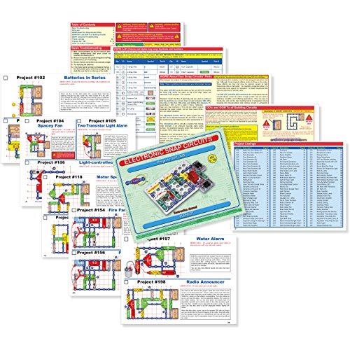61DYwIhk5cL - Snap Circuits Classic SC-300 Electronics Exploration Kit | Over 300 Projects | Full Color Project Manual | 60+ Snap Circuits Parts | STEM Educational Toy for Kids 8+