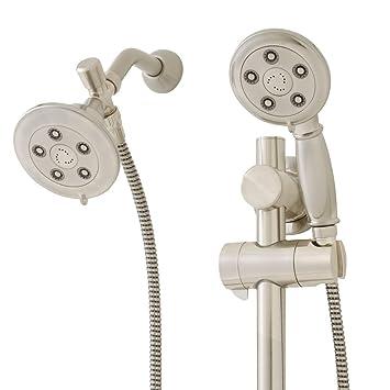 speakman alexandria vs123011bn 25 gpm hand shower with shower head