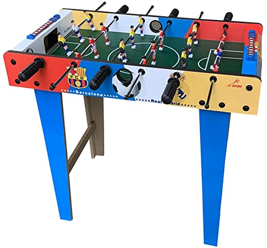 Peggy Gu Juegos de Mesa y Accesorios Tabla Mesa De Futbolín Juego De Fútbol De Futbolín For Adultos Y Niños - Competencia Familiar Partido De Fútbol para Salas de Juegos, Arcadas, Bares: