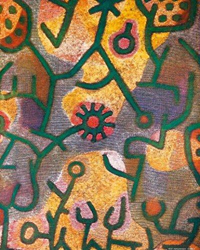 Posters: Paul Klee Poster Art Print - Flora Di Roccia, 1940