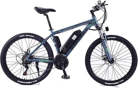 QDWRF E-Bike Bicicleta De Montaña Bicicleta Eléctrica con Shimano ...