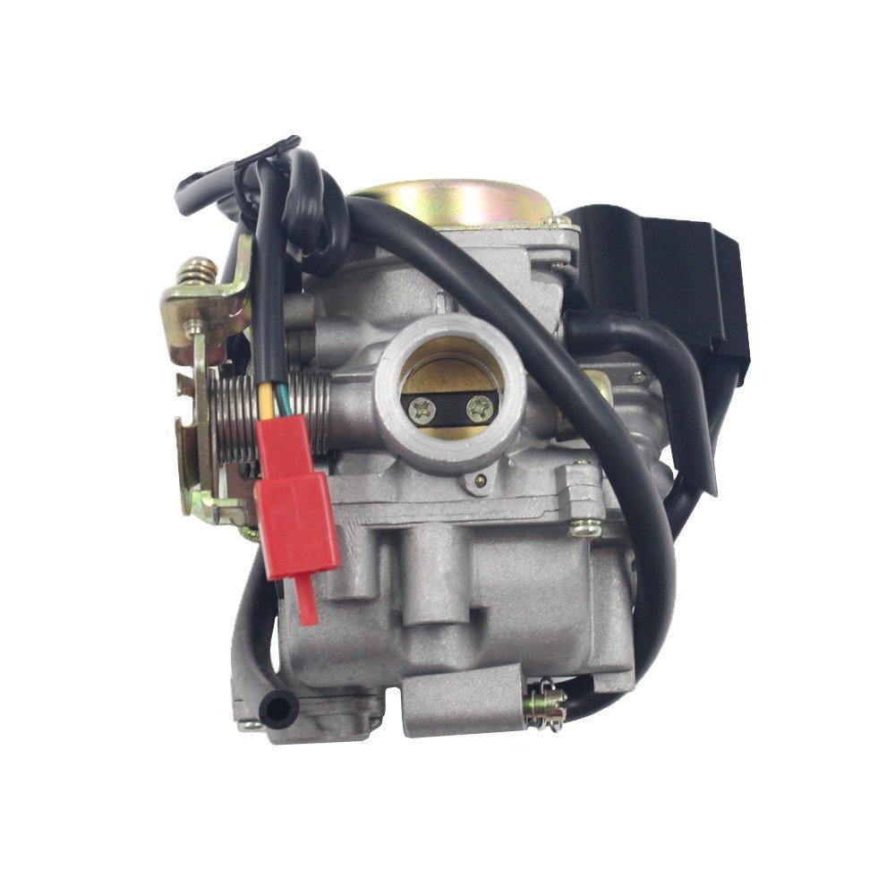DEF Carburador para ATV 49 cc 50 cc Scooter GY6 Motor 4 tiempos con Jet Upgrades