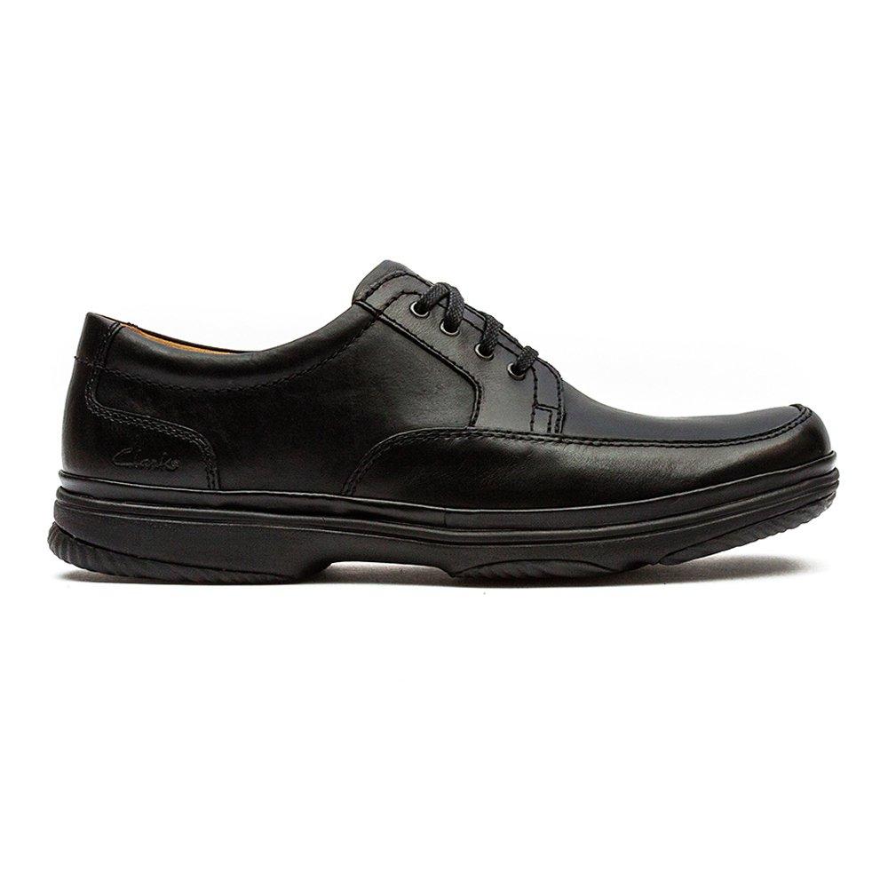 Clarks Swift Mile schwarz Leather - 41 EU