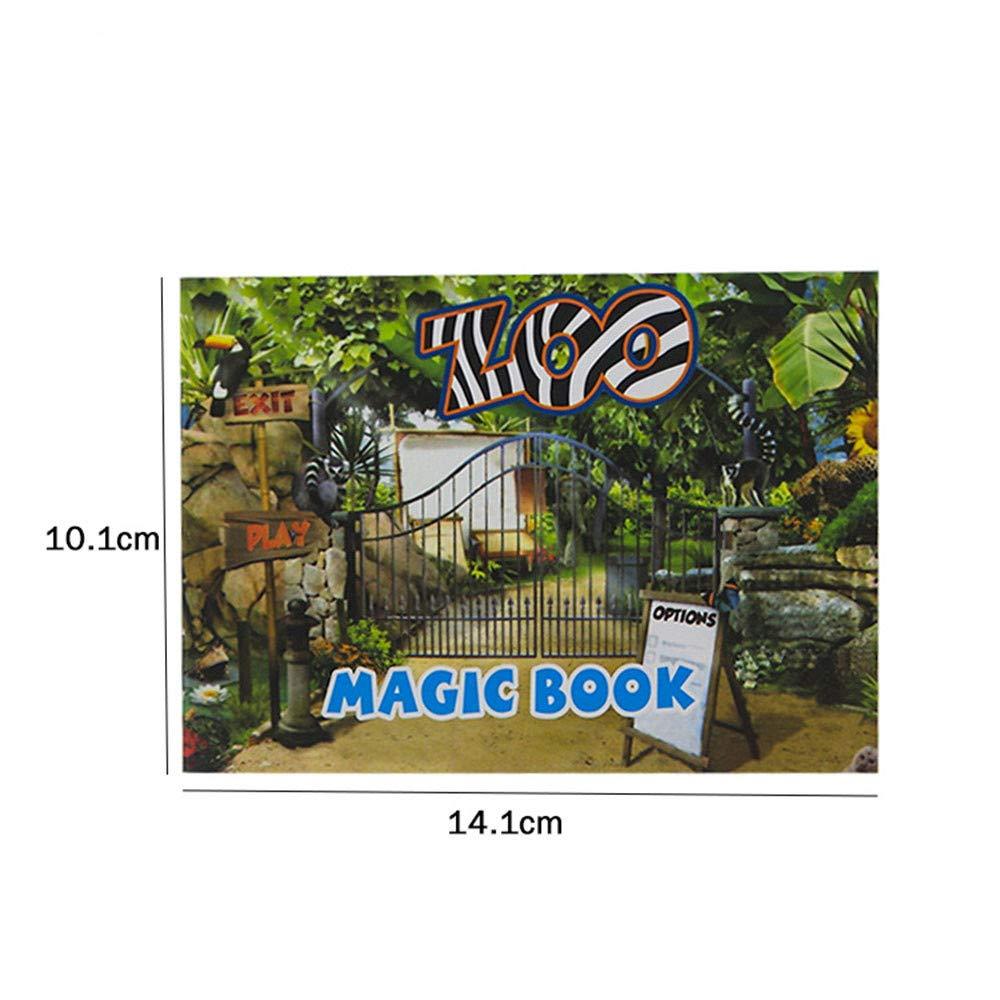 Amazon.com: Pausseo - Libro de animales, diseño de animales ...