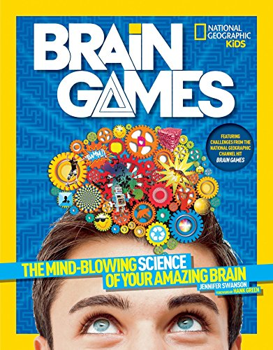 National Geographic Kids Brain Games: The Mind-Blowing Science of Your Amazing - Puzzle Facts Crossword