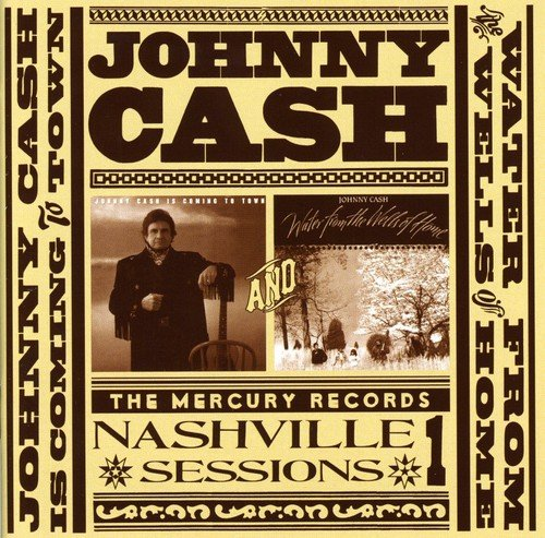 Johnny Cash - Johnny Cash Is Coming to Town/ Water from the Wells (Germany - Import)