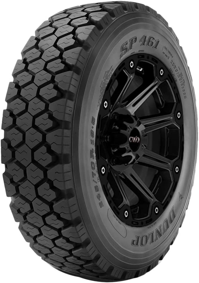 Dunlop Tires SP461 245/70R19.5L Tire - All Season, Commercial (HD)