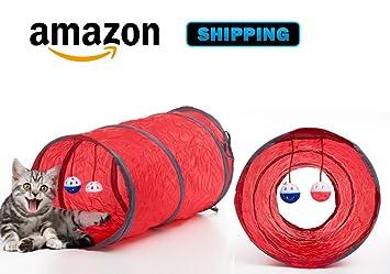 Juguete gato túnel juguetes, animales túnel, tubo para gatitos y gatos pequeños: Amazon.es: Productos para mascotas