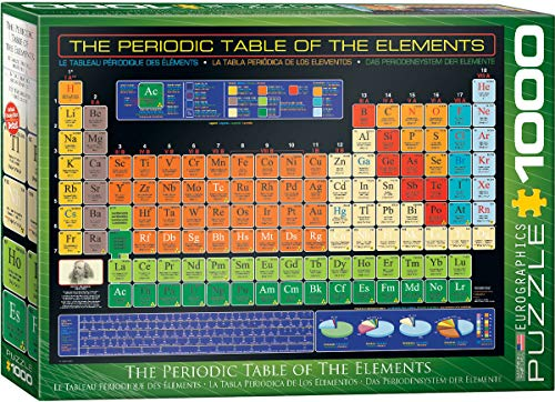 EuroGraphics Periodic Table of Elements 1000 Piece Puzzle