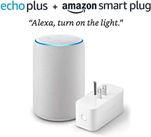 Echo Plus (2nd Generation) with Amazon Smart Plug - Sandstone