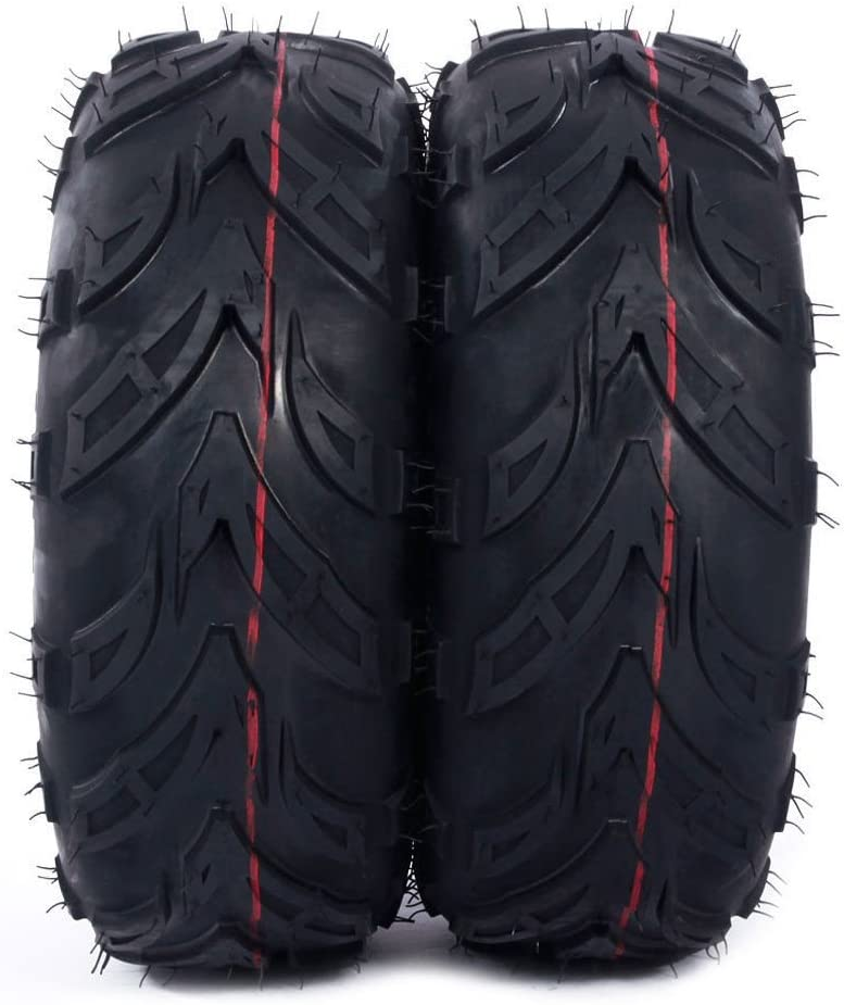 SUNROAD 2PCS ATV Directional Go Kart Tires 145//70-6 4PR P361 B 4 Ply Rated