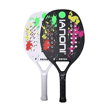 Ianoni playa raqueta de tenis (2 raquetas de tenis y 1 bolsa de ...