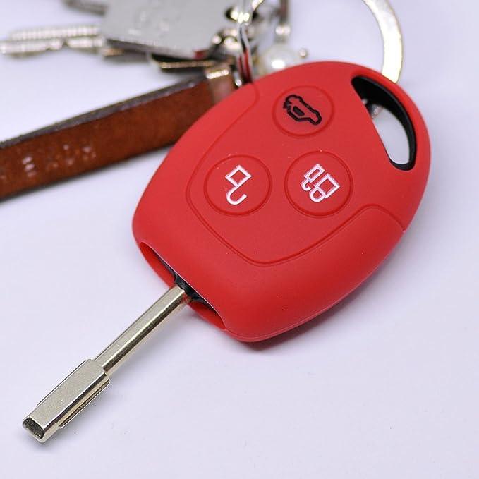 Key Soft Case Cover Funda Protectora Llave del Coche Ford ...