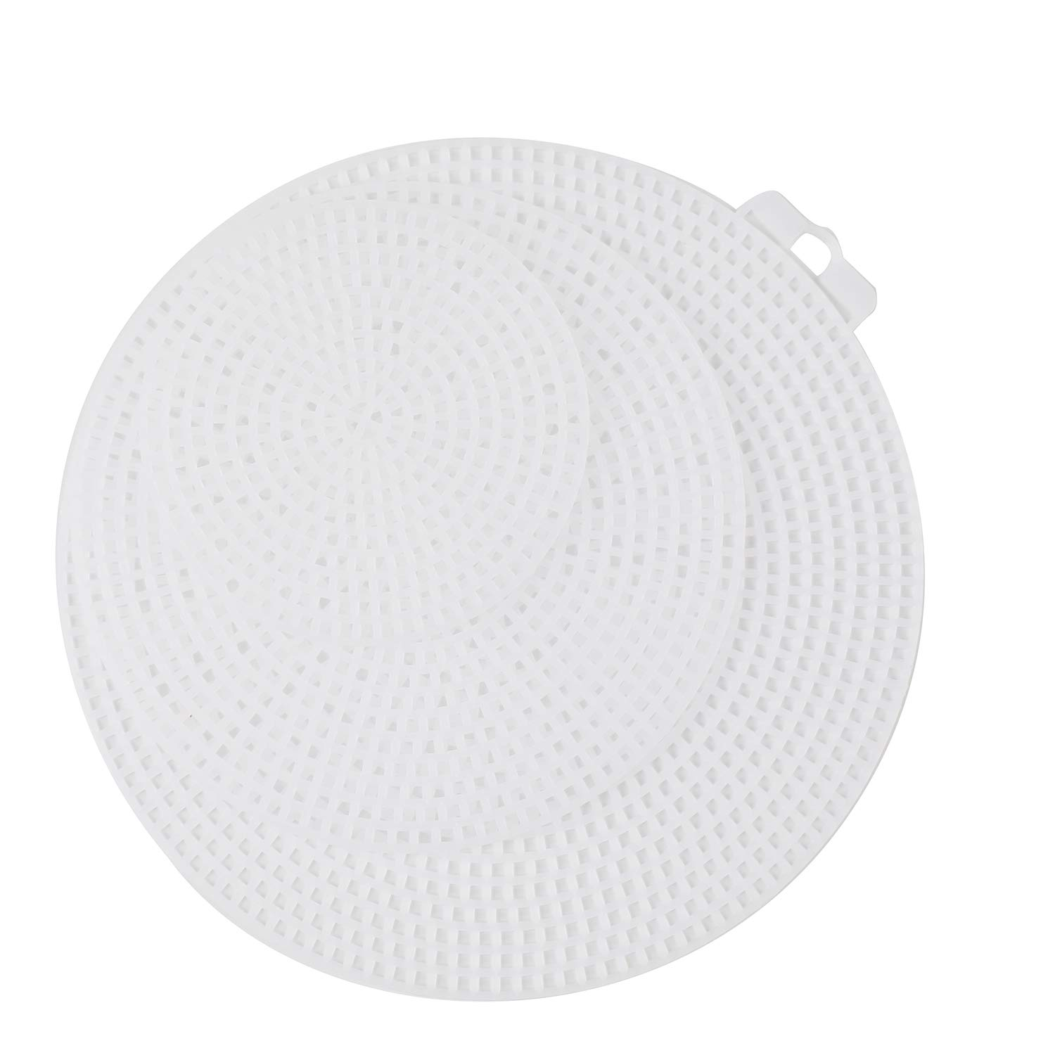 4.5 Inches Tosnail 60 Pack 3 Inches 5.75 Inches Clear Plastic Canvas Mesh Sheets for Embroidery Crafting
