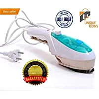 Unique Icons™ Portable Steam Iron Handheld Garment Steamer Household Garment Ironing for Cloths (multicolor)