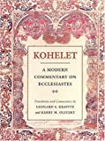 Kohelet, Leonard S. Kravitz and Kerry M. Olitzky, 080740800X