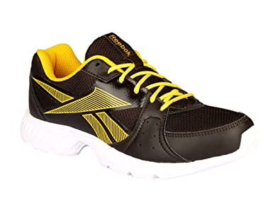 01ed3d00f Reebok Men s Top Speed Dark Root Primal Yellow Running Shoes-9 UK ...