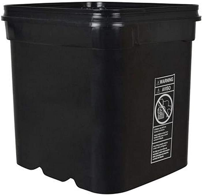 EZ Stor 703990 Container/Bucket 8 Gallon Food-Storage-and-Organization-Sets, Natural