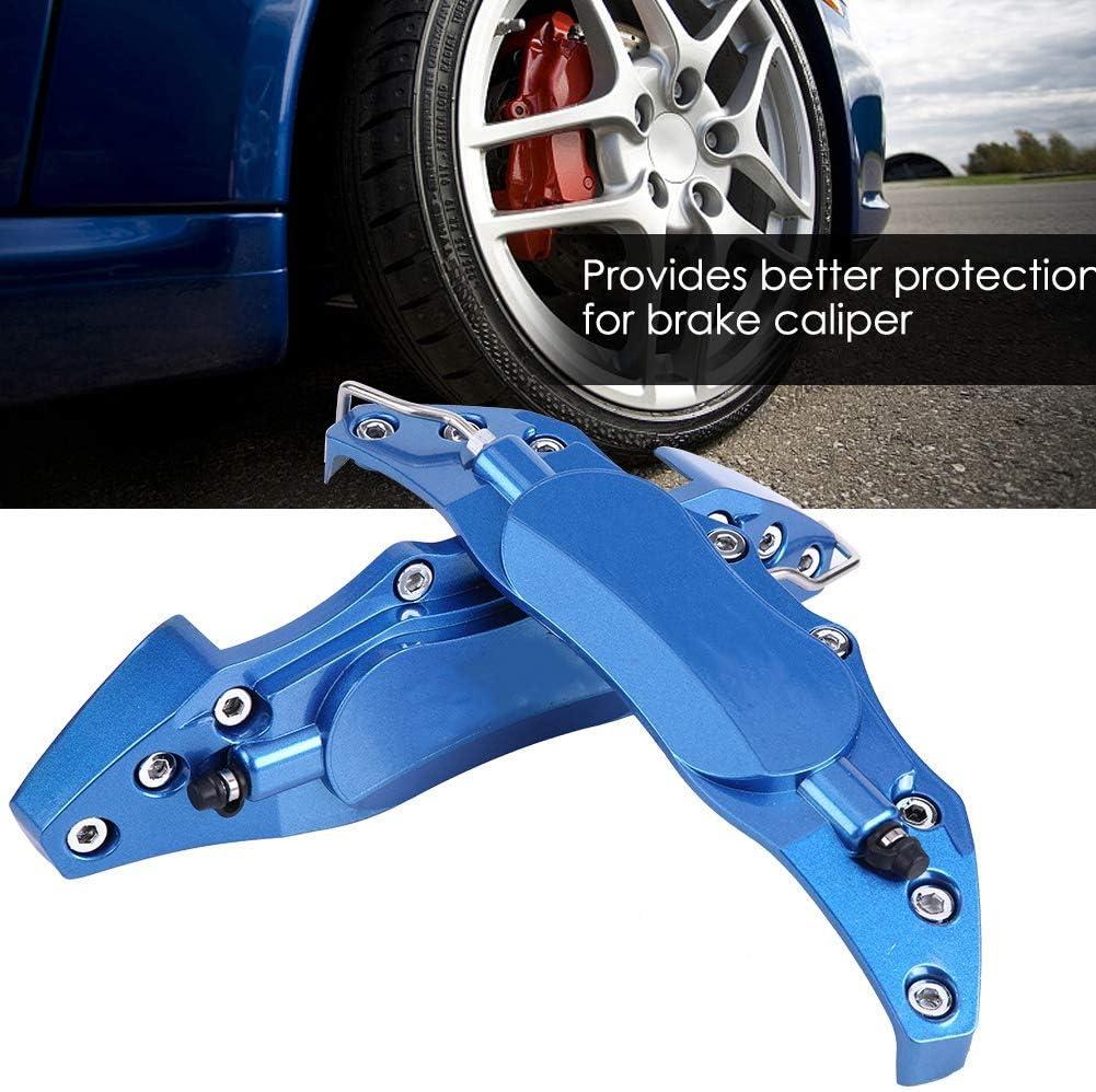 rosso KIMISS 2 pezzi 18-19 pollici Car Endless alluminio pinza coperchio della protezione blu//rosso per mozzo ruota 18in-19in grande