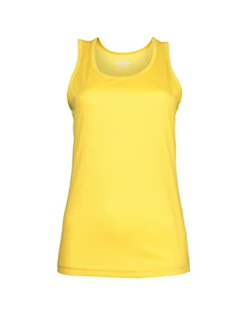 bf05d2f5e32 AWDis Ladies Girlie Just Cool Sporty Breathable Fitness Running Vest Top