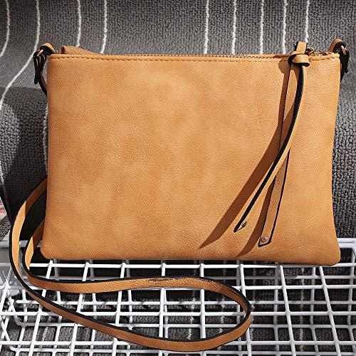 pelle borsa tracolla donna tracolla cerniera casual impermeabile borsa a in cerniera a con tracolla tracolla Borsa pelle per in a tracolla a a con Ansenesna Uq8xvRntBw