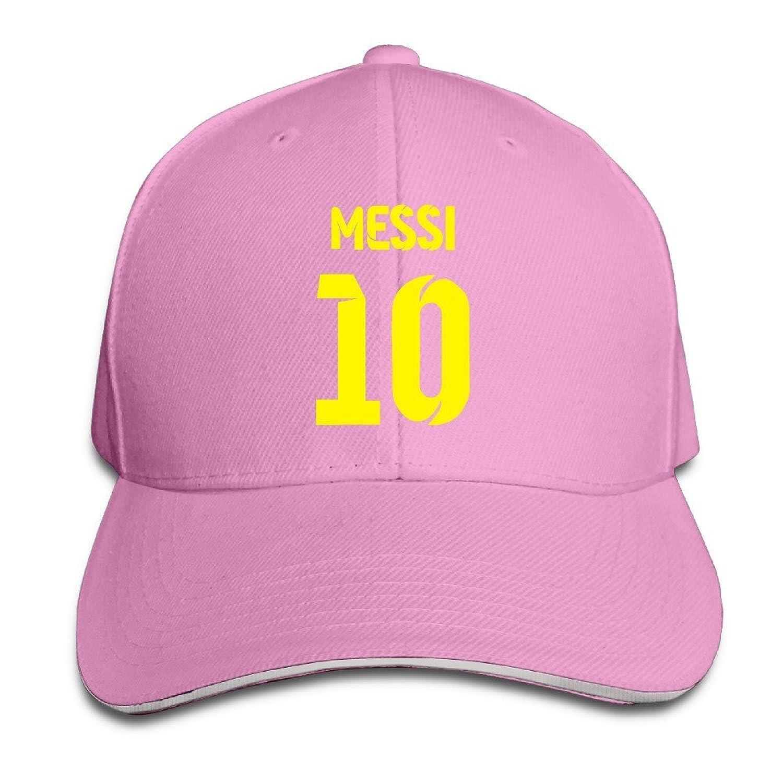 FOODE Lionel Messi Number 10 Peaked Baseball Cap Snapback Hats
